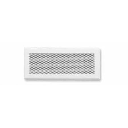 Rejilla-serie M-D 8x20 blanca