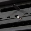 Válvula corta-tiros regulable y regulación del aire de combustión secundario.