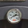 Horno con termómetro de 500 ºC para controlar la temperatura