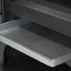 Cajón cenicero extraible para facilitar la limpieza