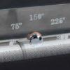 Termómetro de 300 ºC serigrafiado en el cristal para controlar la temperatura.