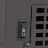 Interruptor de 2 velocidades más termostato.
