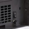 Regulador para controlar la velocidad de los ventiladores. Interruptor on/Off más termostato.