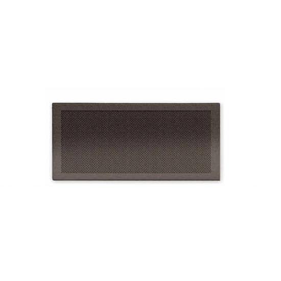 Rejilla simple M-D 8x20 gris