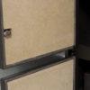 Interior de las puertas en vermiculita de alta densidad.
