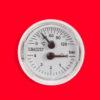 Termomanómetro para controlar temperatura del agua y presión hidráulica.