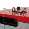 Incluida válvula termosifónica para la regulación automática de la combustión en función de la temperatura del agua